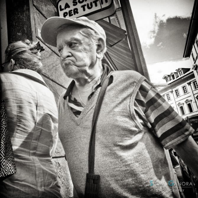 Grumpy old man - ©Silvia Ganora - All Rights Reserved