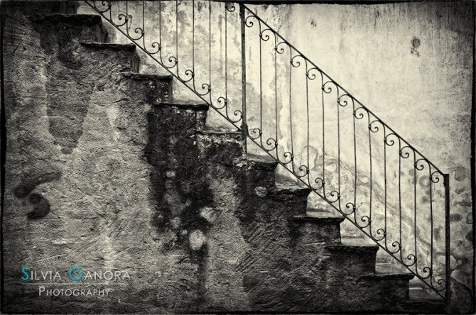 Stairs on a rainy day - ©Silvia Ganora Photography - All Rights Reserved