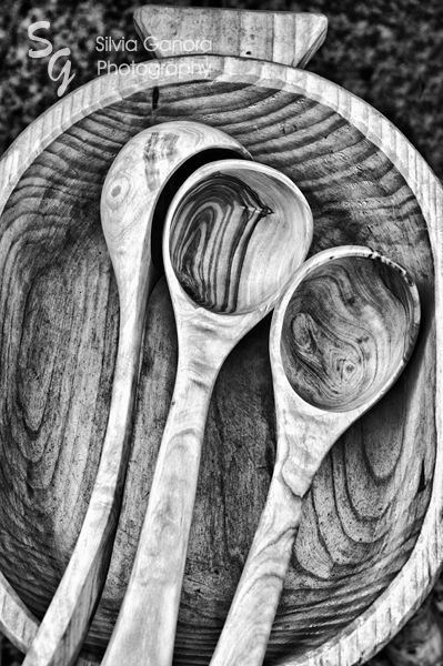 Wooden ladles - ©Silvia Ganora Photography - All Rights Reserved