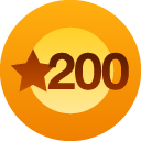 200 likes!