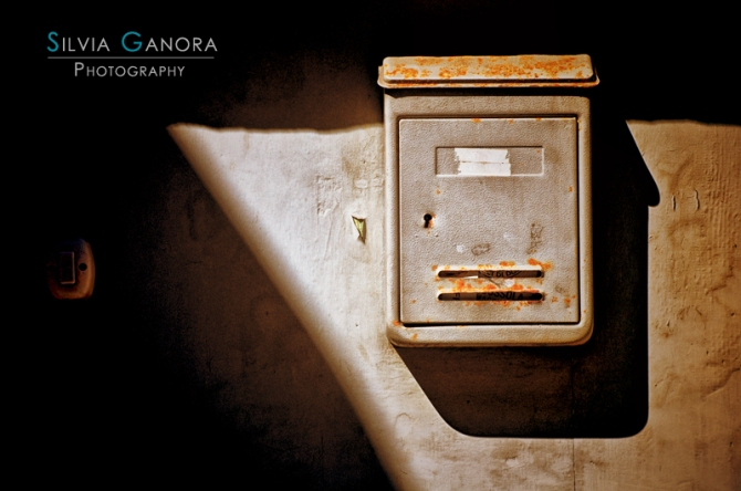 Old mailbox with doorbell - ©Silvia Ganora Photography - All Rights Reserved
