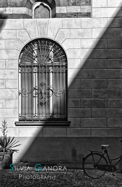Shadow and bike- ©Silvia Ganora Photography - All Rights Reserved
