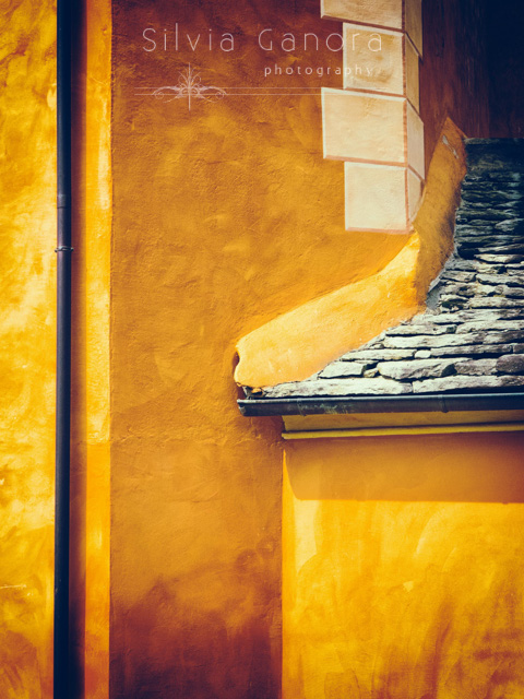 Wall with gutter and roof with stone tiles- ©Silvia Ganora Photography - All Rights Reserved