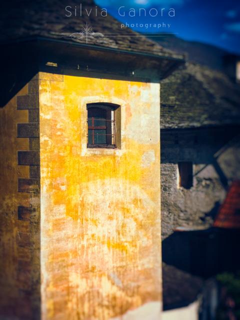 Church wall with tiny window - Copyright Silvia Ganora