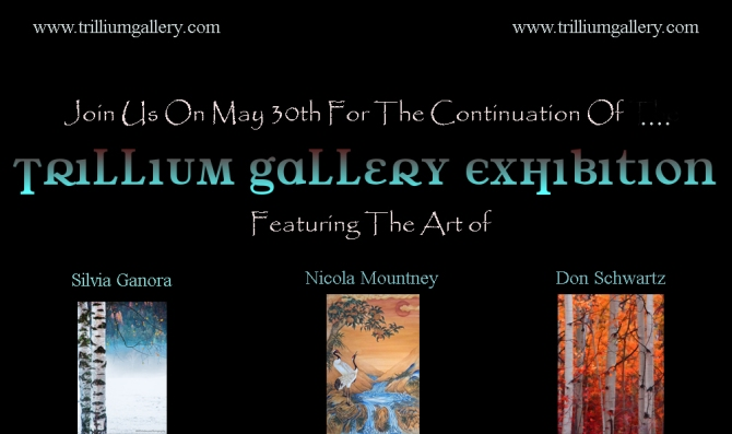 My works now for sale on Trillium Gallery virtual exhibit