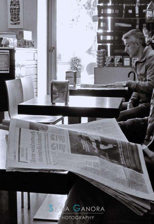 Morning newspaper - Copyright Silvia Ganora Photography