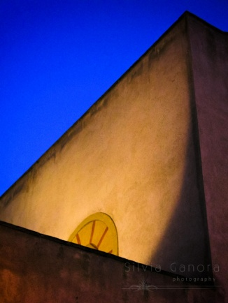 Abstract shot of walls against a blue sky - ©Silvia Ganora Photography - All Rights Reserved