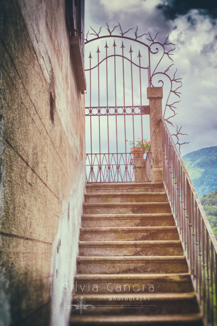 Old stairway outside a building with gate - ©Silvia Ganora Photography - All Rights Reserved